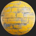 Asset: PaintedBricks002