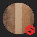 Asset: WoodSubstance004