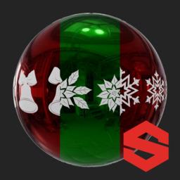Asset: ChristmasTreeOrnamentSubstance002