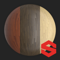 Asset: WoodFloorSubstance001